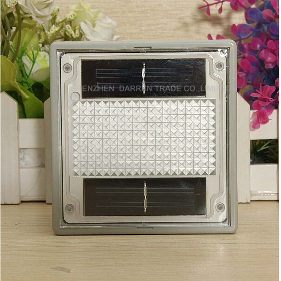 28pcs/lot LED Square Solar Powered Light Garden Light Solar Lantern Outdoor Garden Solar Lamp YH0901