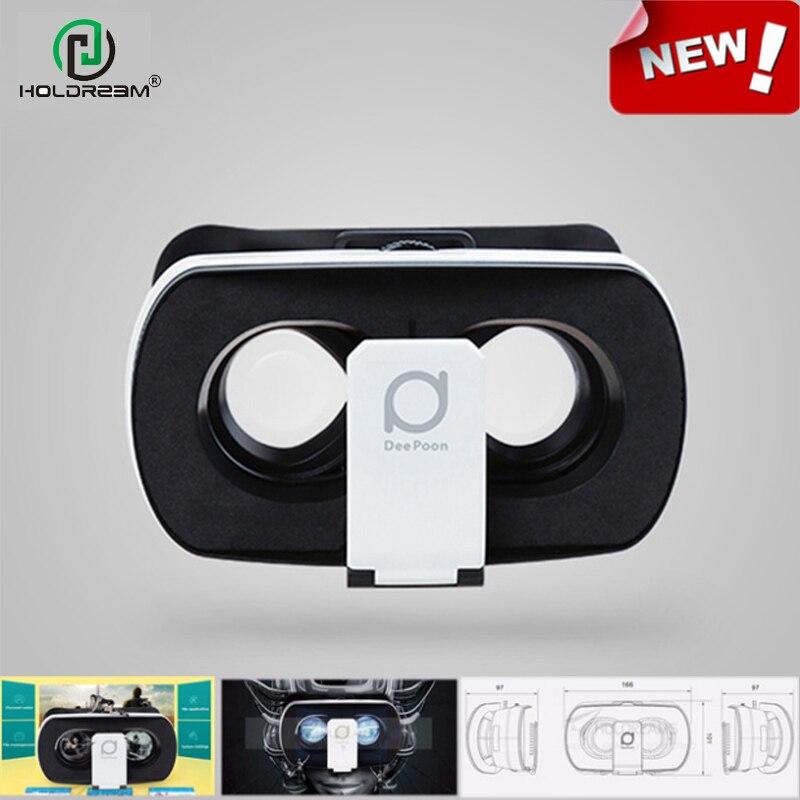<font><b>Deepoon</b></font> V3 3D <font><b>VR</b></font> <font><b>Glasses</b></font> Virtual Reality <font><b>Headset</b></font> Immersive IMAX Game Video Private Theater for 3.5 - 6.0 inch Smartphone