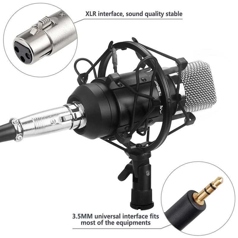 Professionele 3.5mm Wired condensatormicrofoon voor Audio Studio - Draagbare audio en video - Foto 3