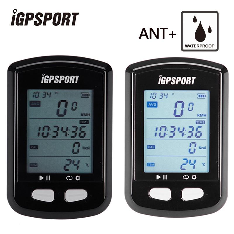 IGPSPORT Bicicleta GPS Velocímetro Inalámbrico ANT + Impermeable IPX6 Digital Cronómetro Bici Accesorios Deportes Ordenador