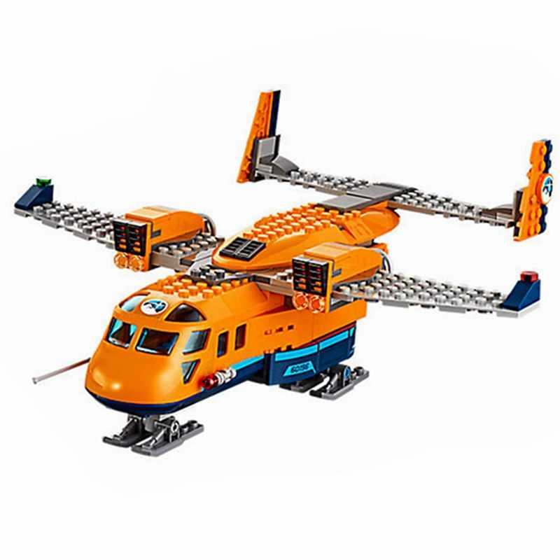 Новый Арктический город воздушный транспорт совместим с города строительных блоков в форме миньона Джорджа из мультфильма детские игрушки рождественские подарки