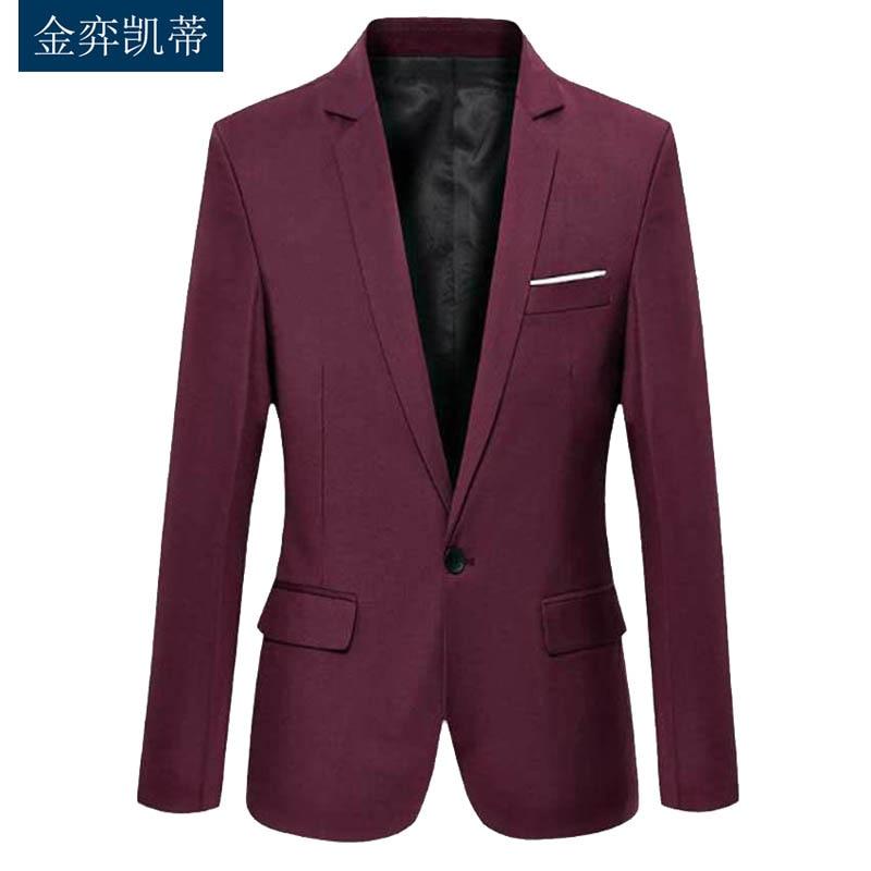 Мужские костюмы и Пиджаки 2017 Slim