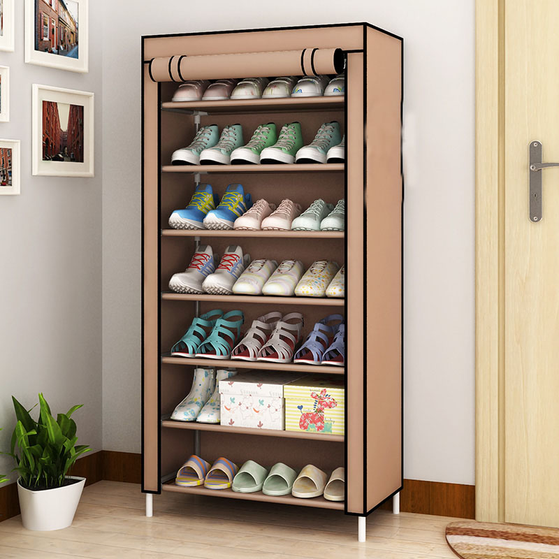 Shoe Racks Dustproof Home Organizer Multiple Layers Shoes Shelf Stand Holder Door Shoe Rack Save Space Home Wardrobe Storage