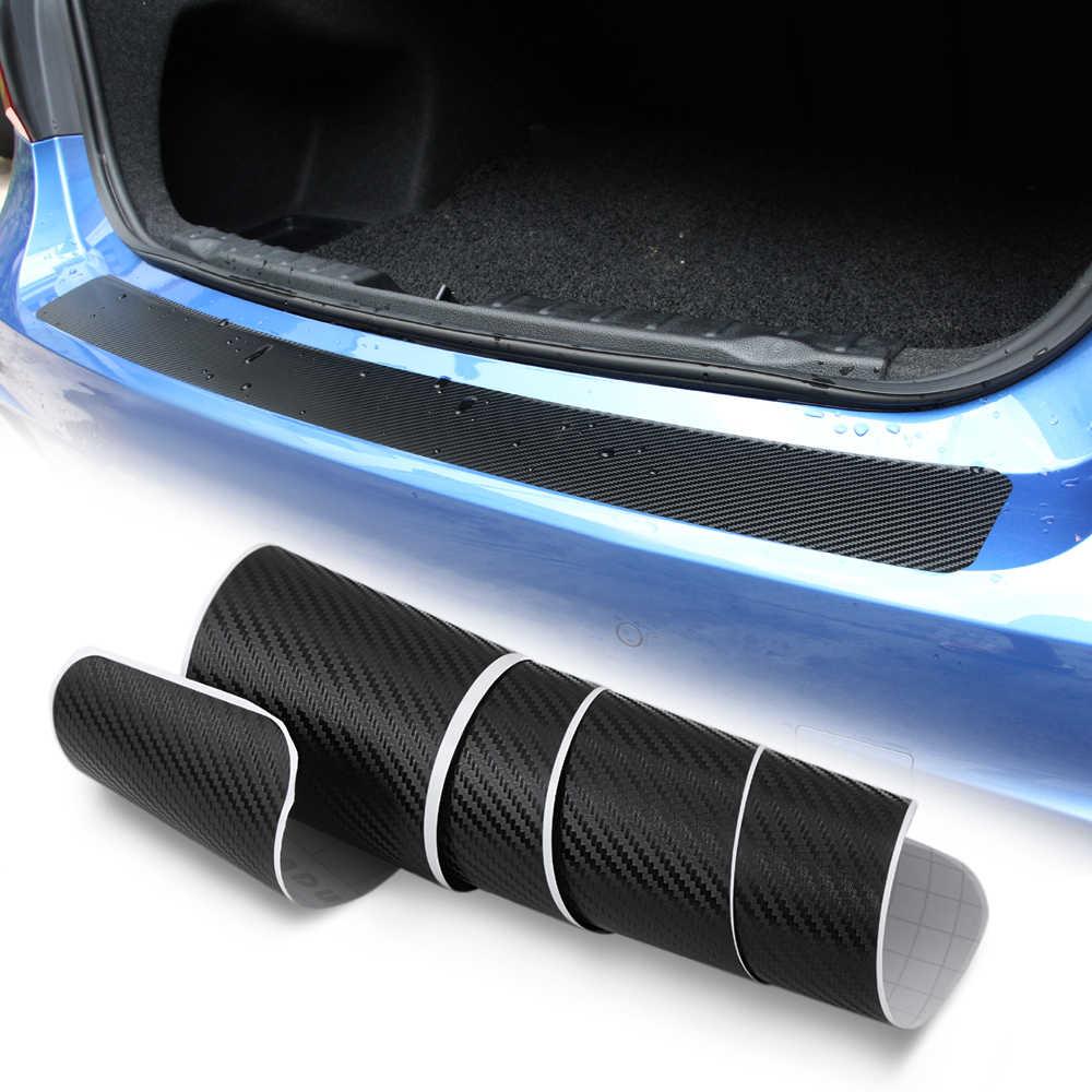 車のトランク保護板 Rearguards リアバンパー炭素繊維のステッカーマツダ 3 6 CX-5 CX5 アクセサリー