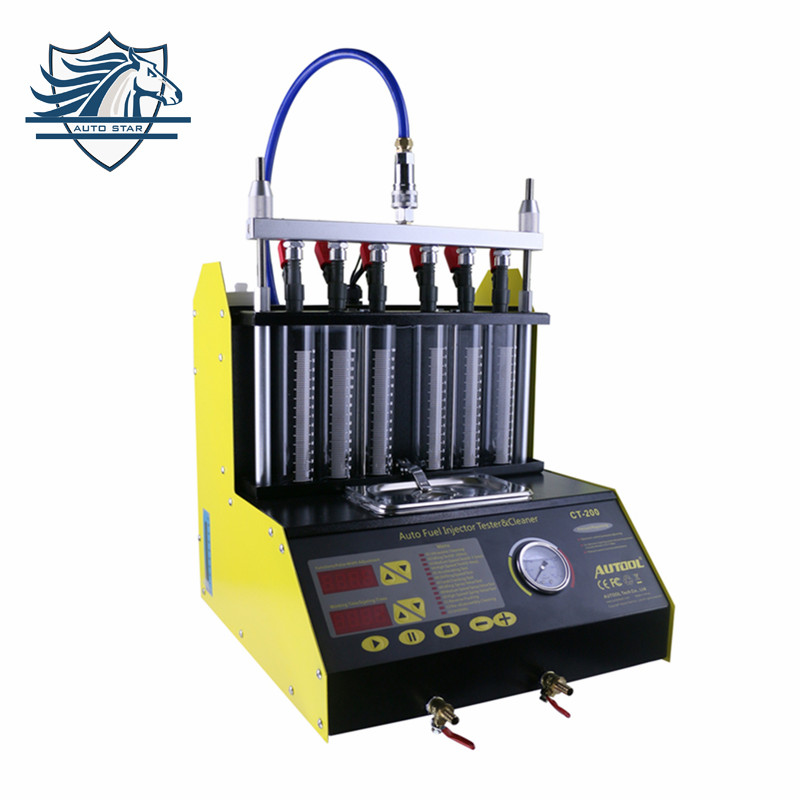 2017 Top-Rated best price 100% original New Arrival CT200 Fuel injector cleaner and tester more better than CNC-602A CNC602A