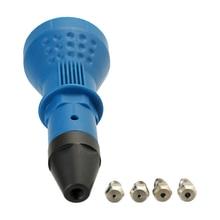 Заклепочная гайка инструмент для клепки для электрической дрели заклепки пистолет электрическая отвертка беспроводные клепки Дрель адаптер вставка гайка-инструмент