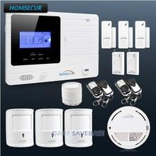 HOMSECUR Wireless GSM Autodial Burglar Alarm System 3 Pet Friendly PIR Sensors