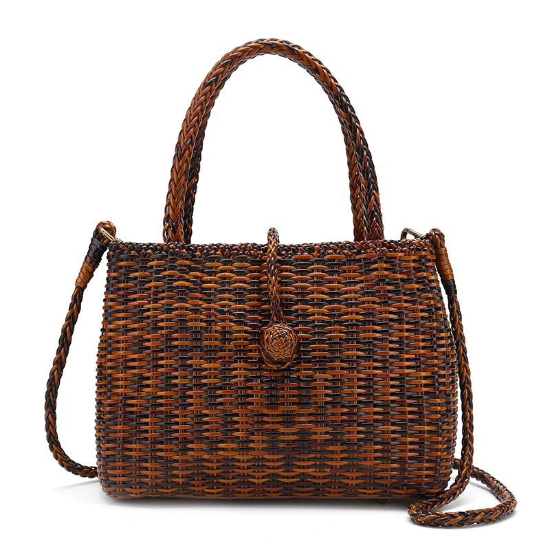 hand weave women genuine leather handbags mami totes bags платье mami featured mami 2015