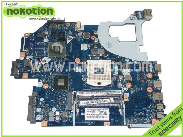 NBM6A11001 NB.M6A11.001 Main Board For Acer aspire V3-571G Laptop Motherboard DDR3 LA-7912P GeForce GT710M