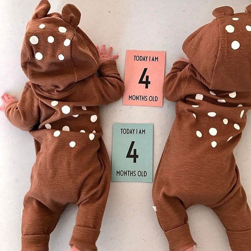 Baby Romper Sets Baby Boys Cute Cartoon Onesie Animal Girl Clothes Newborn Jumpsuit Babys Rompers Cotton Winter Toddler Costume nyan cat baby girl boys infantil toddler red christmas santa claus romper hat outfit cotton jumpsuit costume event party clothes