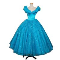 2016 Adult Cinderella Dress Cosplay Costumes For Women Party Dress