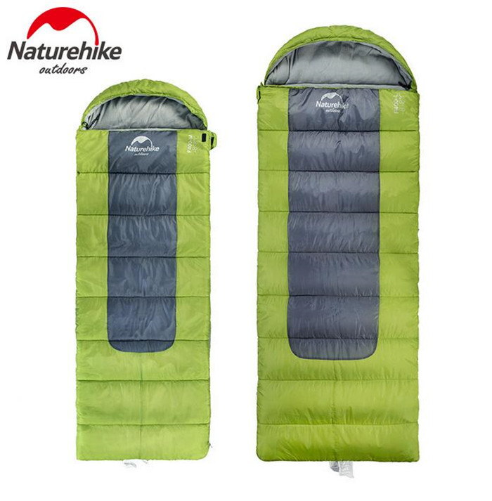 Naturehike Outdoor Winter Sleeping Bags Travel Camping Ultralight Portable Envelope Down Feather Sleeping Bag 3 Colors naturehike goose down sleeping bag adult waterproof travel outdoor camping hiking warm winter envelope ultralight sleeping ba