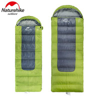 Naturehike Outdoor Winter Sleeping Bags Travel Camping Ultralight Portable Envelope Down Feather Sleeping Bag 3 Colors