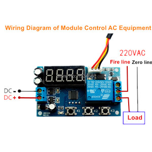 Image 4 - 12V High precision Intelligent Thermoregulator Thermostat Temperature Controller DS18B20 Sensor Delay Timer Time Relay Switch