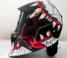 Amazing useful Solar Auto darkening filter welding helmet/face mask/Electric welder mask/caps