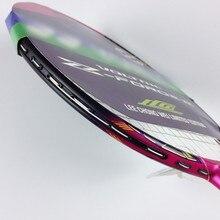 badminton racket racquet voltric z force ii 4u badminton string+bag+grip