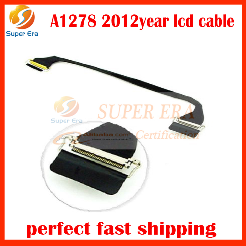 new perfect laptop led flex cable for macbook pro 13inch A1278 lcd cable display screen flex cable 2012year MD101 MD102 original new a1706 a1707 a1708 lcd led lvds screen display cable for macbook pro a1706 a1707 a1708 lcd display flex cable