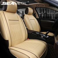 1pc PU Leather Car Seat Covers Interior Chairs Cushion Automobiles Seat Cover Vehicle Seats Protector Auto Accessories Universal
