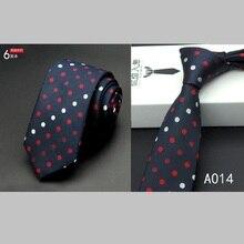 hot sale mens ties 6cm gravata for men 6 cm wedding accessories slim fashionable neckties man lot