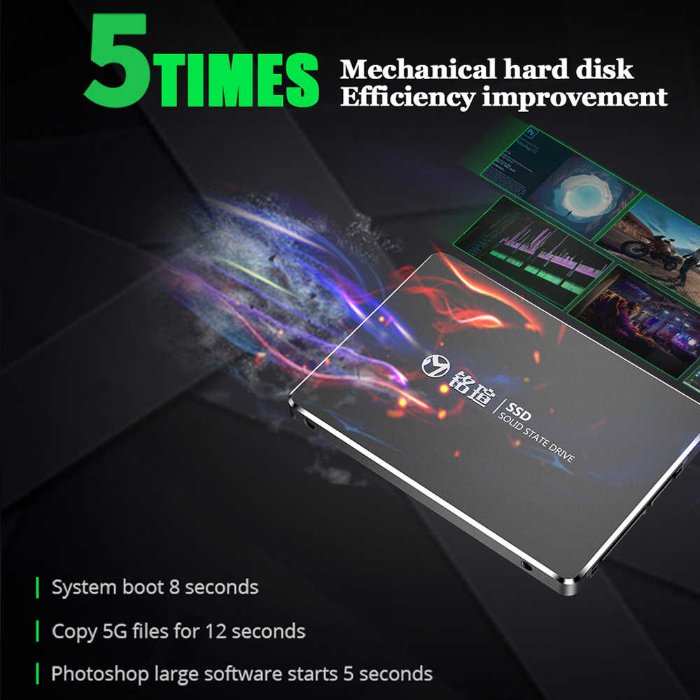 MAXSUN 480gb SSD unidades de estado sólido de 2,5 pulgadas SATA III lectura continua hasta 490 MB/S SATA 6 Gb/s para ordenador portátil de escritorio