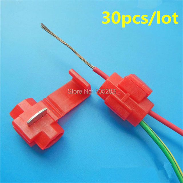 30 stücke Quick Connect Kabel Terminal Splice Flexible Kabel ...