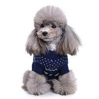 겨울 따뜻한 애완 동물 개 스웨터 크리스마스 순록 강아