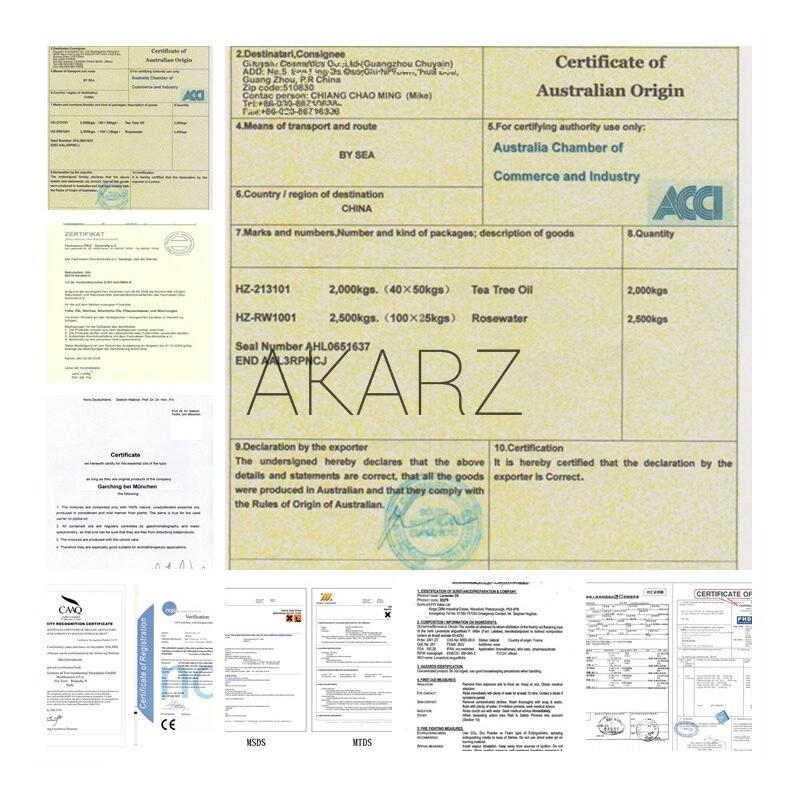 Akarz известный бренд лучший набор еды вишневый цвет эфирное масло ароматерапия для кожи, лица и тела Уход купить 2 получить 1