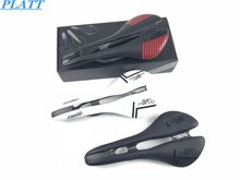 2018 New mtb carbon saddle PLATT Marco full leather soft selle ciclismo high quality bike parts bicycle path saddle seat 116g