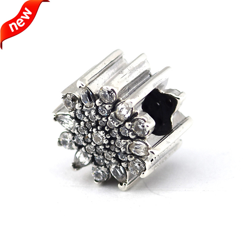 9861499c2 Fits For Pandora Braclets Ice Crystal Charms 100% 925 Sterling Silver  Jewelry Beads Free Shipping-in Beads from Jewelry & Accessories on  Aliexpress.com ...