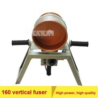 DN160 Vertical Pipe Fuser High quality Welding Machine PPR Water Pipe Tool 160 Welding Machine 220V 1500W 0 300 Degrees Hot Sale