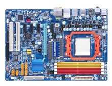 Free shipping 100% original motherboard for Gigabyte GA-MA770-DS3P DDR2 AM2/AM2+ Desktop Motherboard
