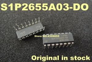 Image 1 - (2 PCS) (5 PCS) (10 PCS) S1P2655A03 D0 S1P2655A03 DO SIP2655A03 D0 DIP 16
