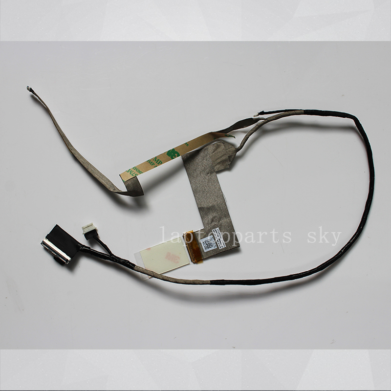 NEW Original LCD LED Flex Cable For DELL Latitude E6420 PAL50 Laptop Screen video Display Cable 0F1P03 DC02001IA00  14 original new lcd screen display lcd screen lp140wh6 tj a1 lp140wh6 for dell xps 14z l412z display 0jyf5y 0fx8h0