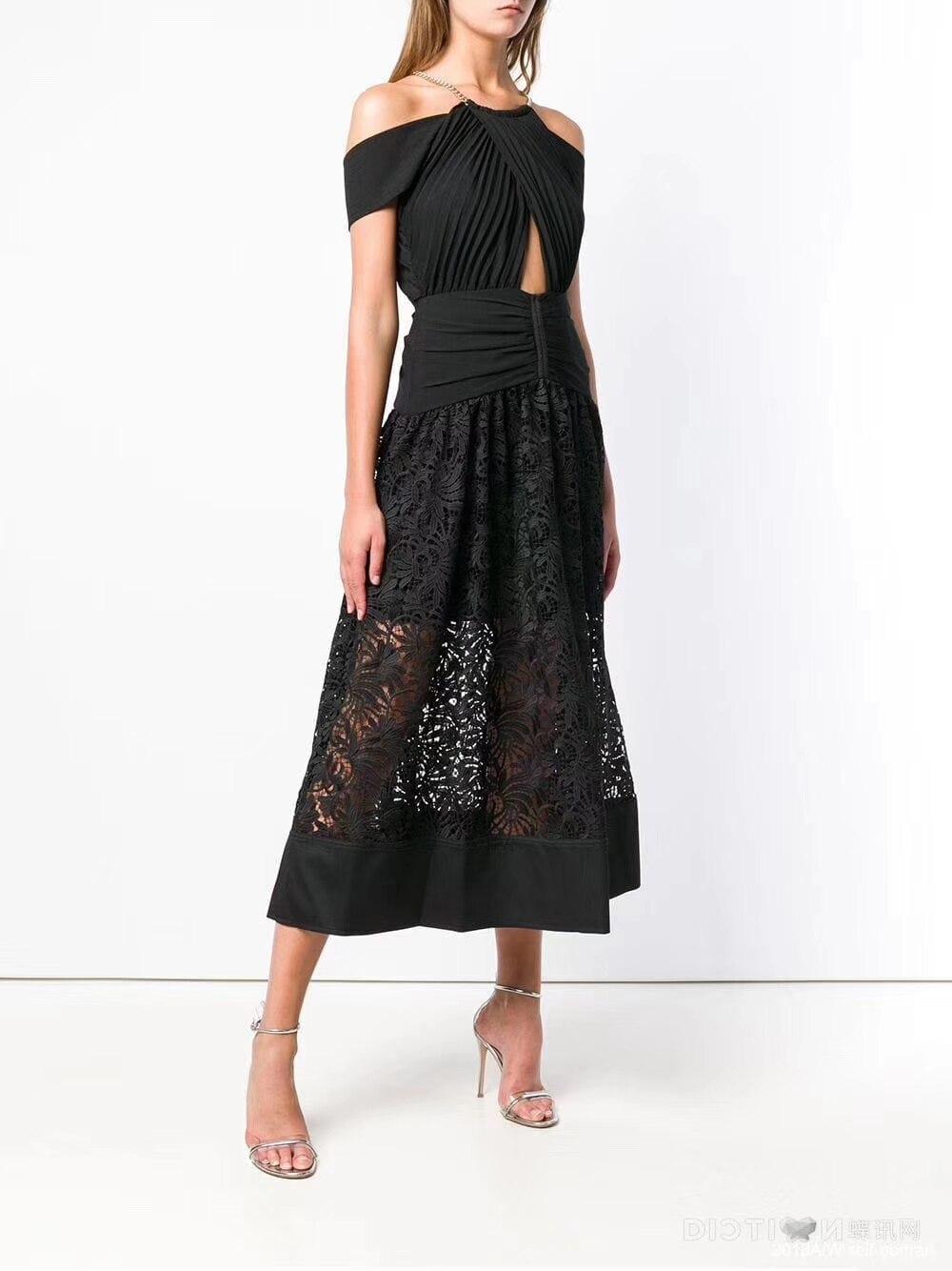 2019 nouveau noir Long Maxi Sexy épaule dénudée femmes d'été robe élégante pour Club de fête livraison gratuite