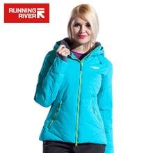 Running river marca mujeres chaqueta de esquí s-xxxl tamaño 4 colores de la Nieve Térmica Chaquetas Para Mujer Chaqueta de Invierno Deportes Al Aire Libre # L4973