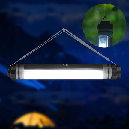 Mini LED Portable Chargeable USB Powered Magnet Flashlight Lantern Tent Light Emergency Lamp Waterproof Hanging Ourdoor Camping