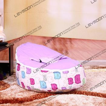 FRETE GRÁTIS feijão bebê tampa saco com 2 pcs roxo up cobrir preguiçoso cadeira do saco de feijão bebê tampa de assento do bebê do miúdo cadeira