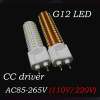 3 шт./лот G12 светодиодный лампы 10 W 12 W реальная власть 108 светодиодный s 144 светодиодный s 360 градусов SMD2835 теплый белый/холодный белый AC85-265V Свет...