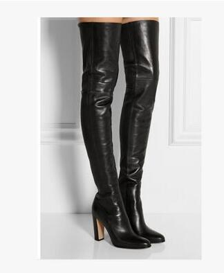 Popular Tall Black Dress Boots-Buy Cheap Tall Black Dress Boots ...