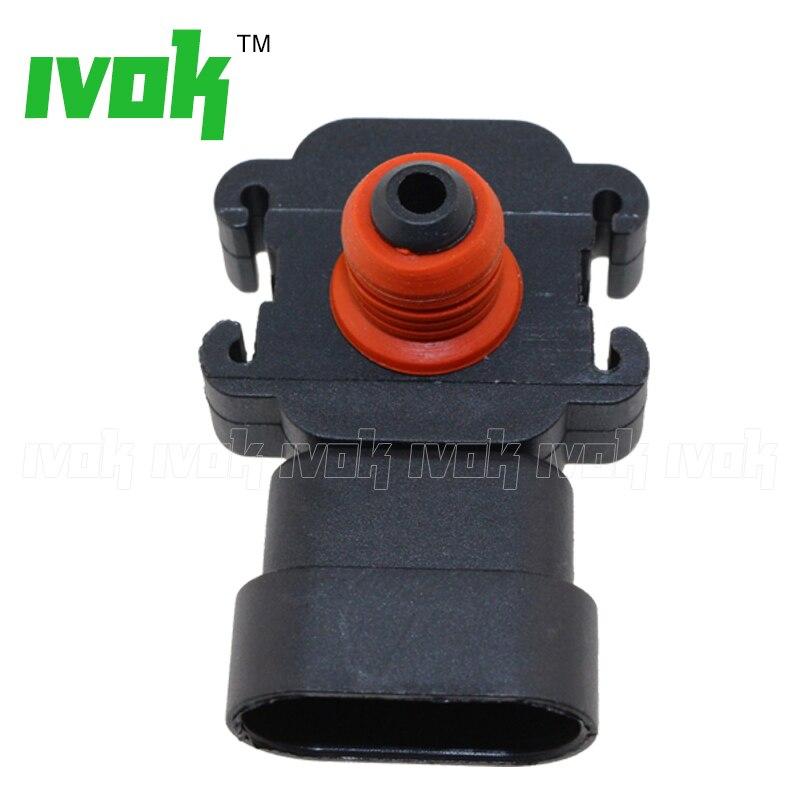 MAP Pressure Sensor For Vauxhall Opel Astra IV G Combo II Corsa III C 1.7 DI DTI 6238166 98131026 97180655 1247049 16235939