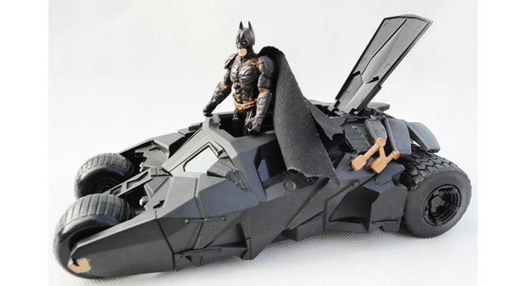 Factory shipping!! Best selling!! Children robot car toys action toy figure batman batmobile best gift Creative ctwj0780 creative toy diy toys drop shipping