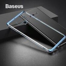 Baseus Lüks Yumuşak Silikon samsung kılıfı Not 9 Ultra Ince Şeffaf şeffaf samsung kılıfı Galaxy Not 9 Telefon Kapak