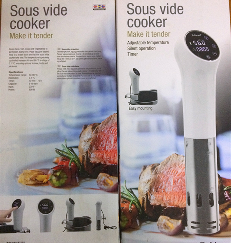цена Sous vide cooker sous vide stick cooker Low temperature cook pure boiled steak cooker slow cooker Stick Sous Vide Perfect Cook