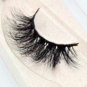 Image 2 - Visofree Mink Eyelashes Crisscross Natural False Eyelashes Eyelash Extension Full Strip False Lashes Handmade Fake Eyelashes E11