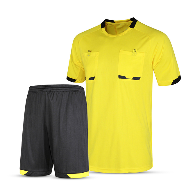 2017 New Professional Soccer Football Referee Jersey Sets