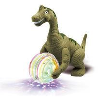 Electronic Pets Interactive Toy Children Simulation Triceratops Animal Model Can Walk Dance Light Vocal Toys for