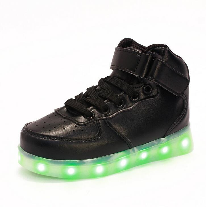 STRONGSHEN-New-USB-Charging-Kids-Sneakers-Fashion-Luminous-Lighted-Colorful-LED-lights-Children-Shoes-Casual-Flat-Boy-girl-Shoes-4