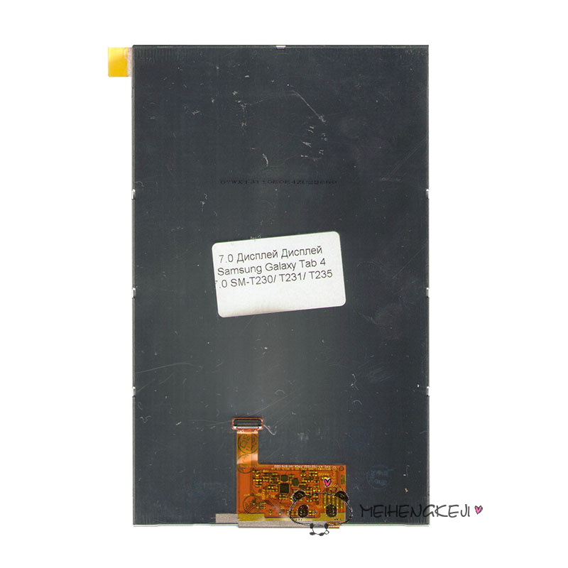 New 7 Inch Replacement LCD Display Screen For Samsung Galaxy Tab 4 7.0 SM-T230/ T231/ T235 tablet PC Free shipping brand new 30pcs wholesale price for samsung galaxy s7 edge g935 g9350 g935f g935fd lcd display touch screen free dhl 3 color