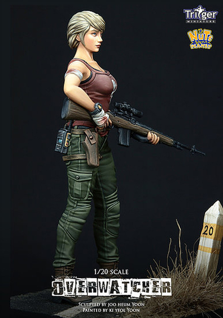 1/20 Overwatcher, Resin Model Figure GK, Unassembled and unpainted kit 1
