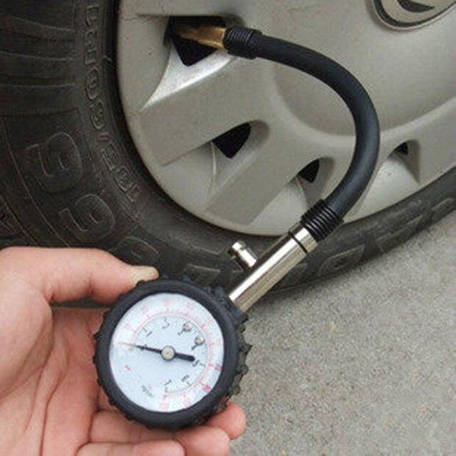 car tire pressure gauge. meter tire pressure gauge 0-100psi auto car motorbike tyre air vehicle s